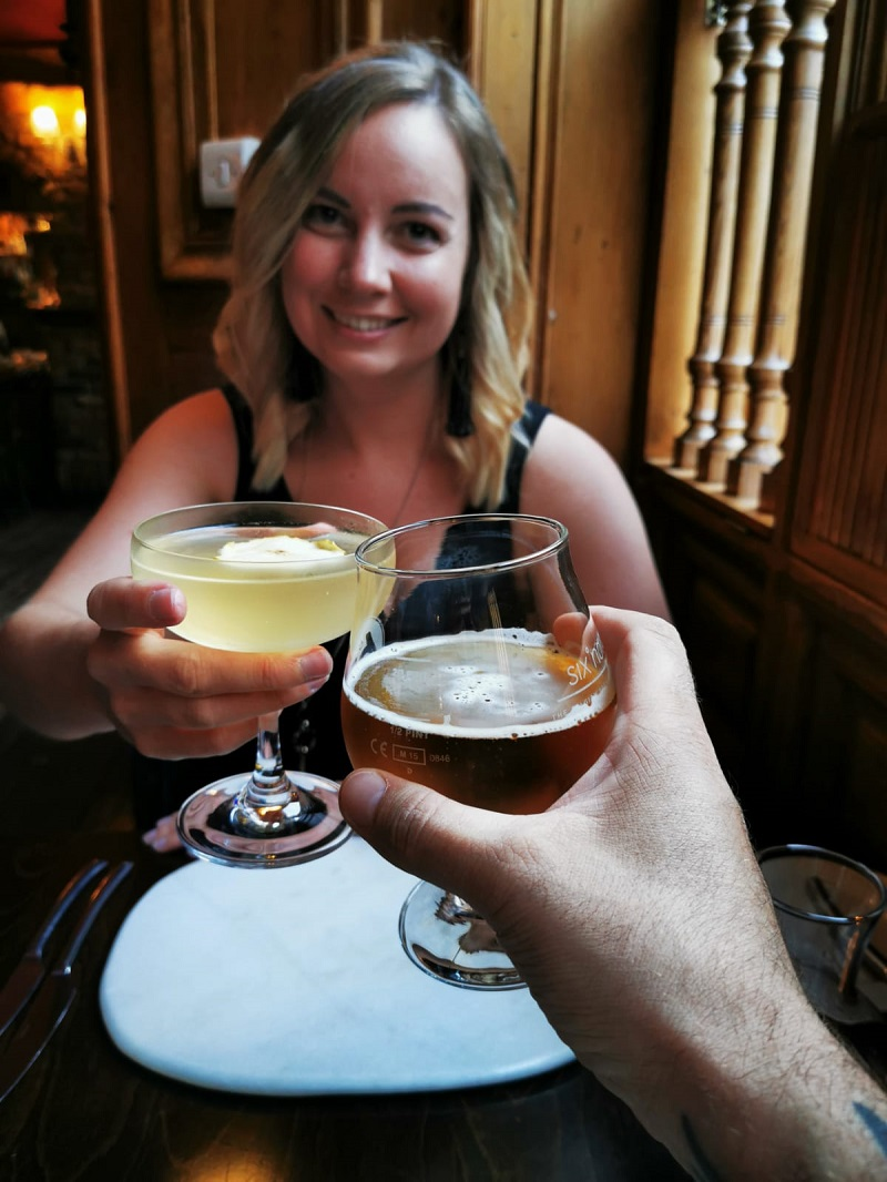 Cheers! Cocktails and beer at Cafe Boheme