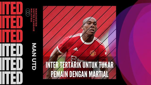 Inter Tertarik untuk Tukar Pemain dengan Penyerang Man United