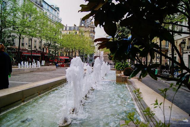 Jardines de La Soborna Paris, Universidad