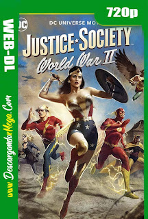 Justice Society World War II (2021) HD [720p] Latino