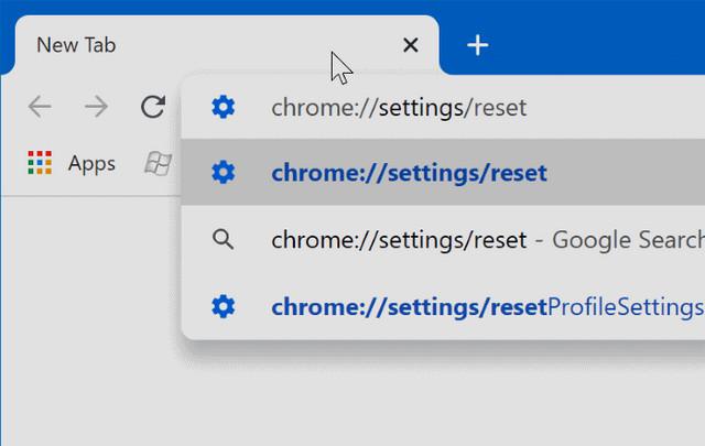 كيفية إعادة ضبط متصفح جوجل كروم إلى الإعدادات الافتراضية في ويندوز 10