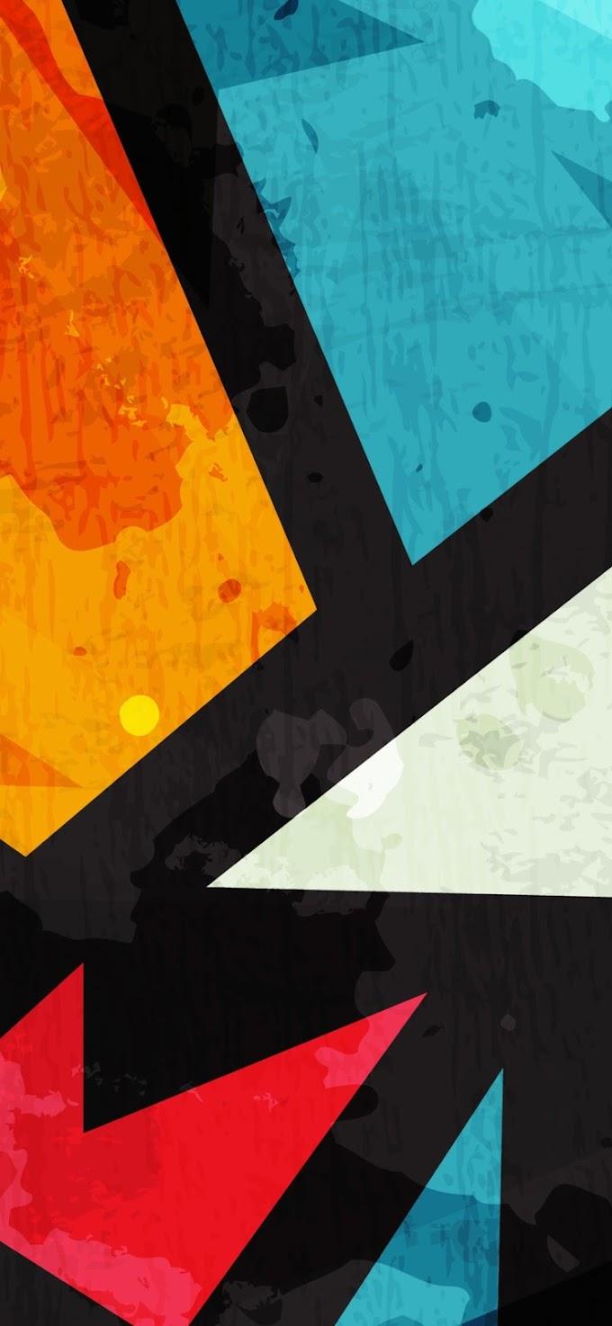 Papel Parede Abstrato Colorido para Celular
