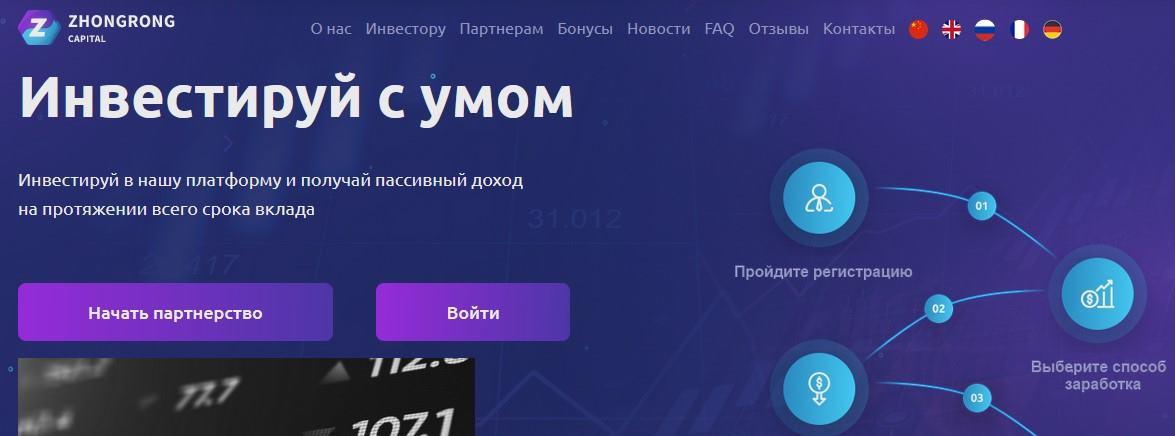 Мошеннический сайт zongcap.com – Отзывы, развод, платит или лохотрон? Мошенники