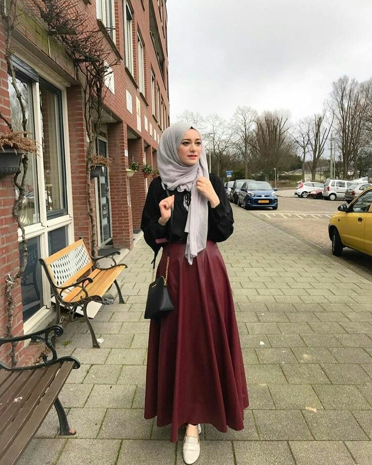 Azyaa Mohajabat Style de 2019. Un Hijab Fashion