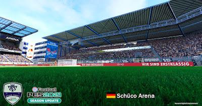 PES 2021 Stadium Schüco Arena
