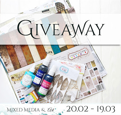 Giveaway from Mixed Media & Art