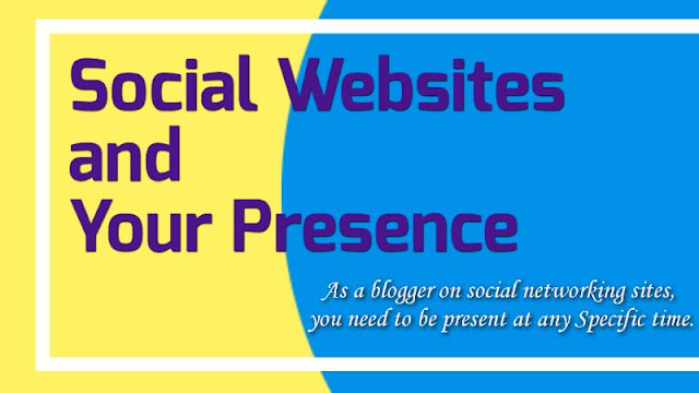 How to present yourself as a blogger on social networking sites.
