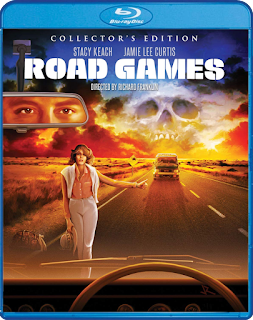 Scream Factory's ROAD GAMES (COLLECTOR'S EDITION) is Vault Master's Blu-ray Pick of the Week!
