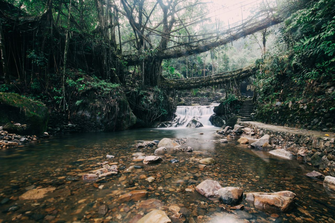 MAWSYNRAM: THE WETTEST PLACE IN THE WORLD -EVERYONE'S BUCKET LIST