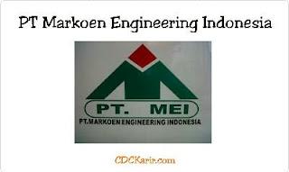 Loker SMA/SMK PT Markoen Engineering Indonesia November 2019
