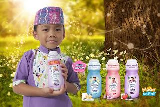 Cussons baby powder dengan moodscent