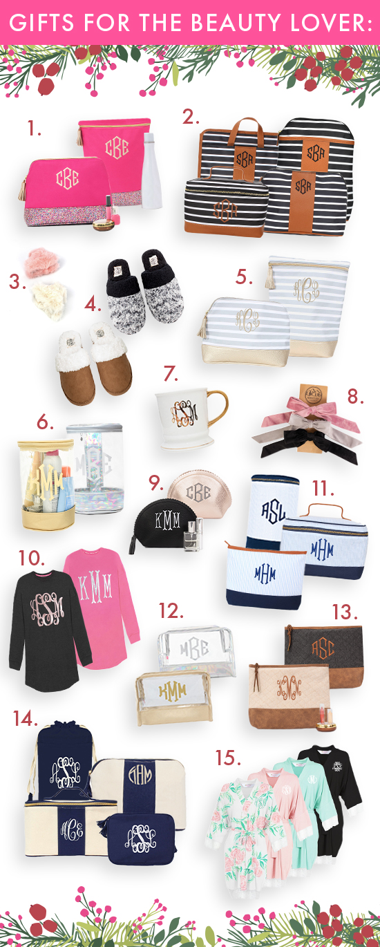 gifts for the beauty lover