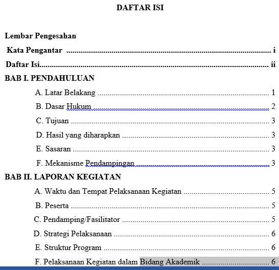 Download Contoh Laporan Sekolah Model Hasil Pelaksanaan Spmi Sistem Penjaminan Mutu Internal Seo Sunda