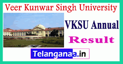 VKSU Veer Kunwar Singh University of Ara Result
