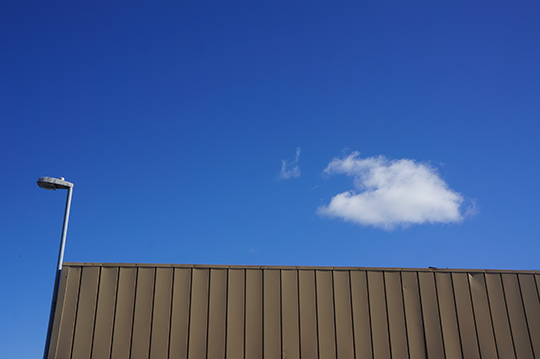 urban photography, cloud photography, blue skies, clouds, reflections, contemporary,