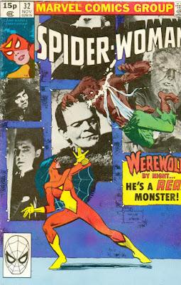 Spider-Woman #32, Werewolf by Night
