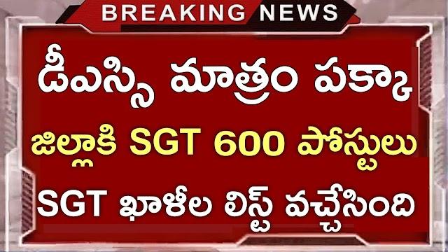 AP DSC SGT Vacancies in Prakasam 2021