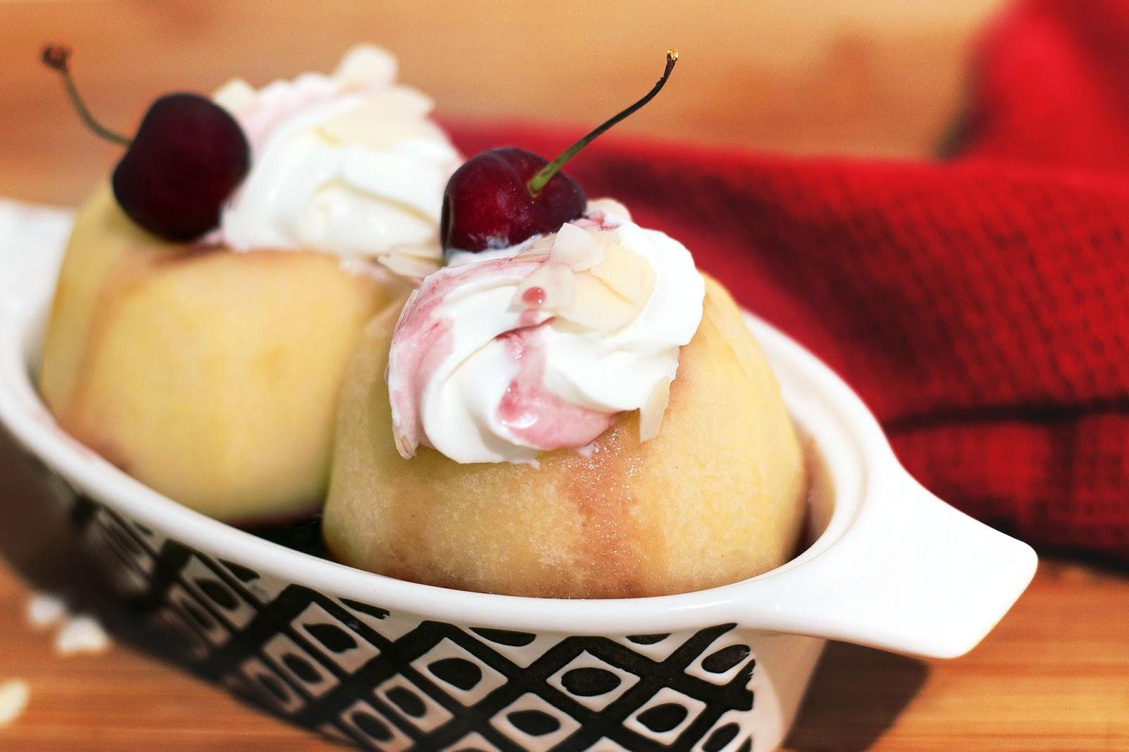 recette Pommes farcies à la cerise