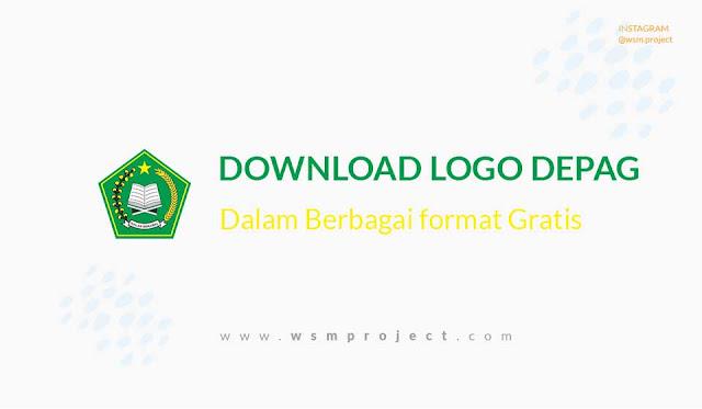 Gratis Vector Logo Kementrian Agama RI
