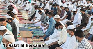 Salat Id Bersama merupakan salah satu kegiatan seru yang dilakukan saat Idul Adha