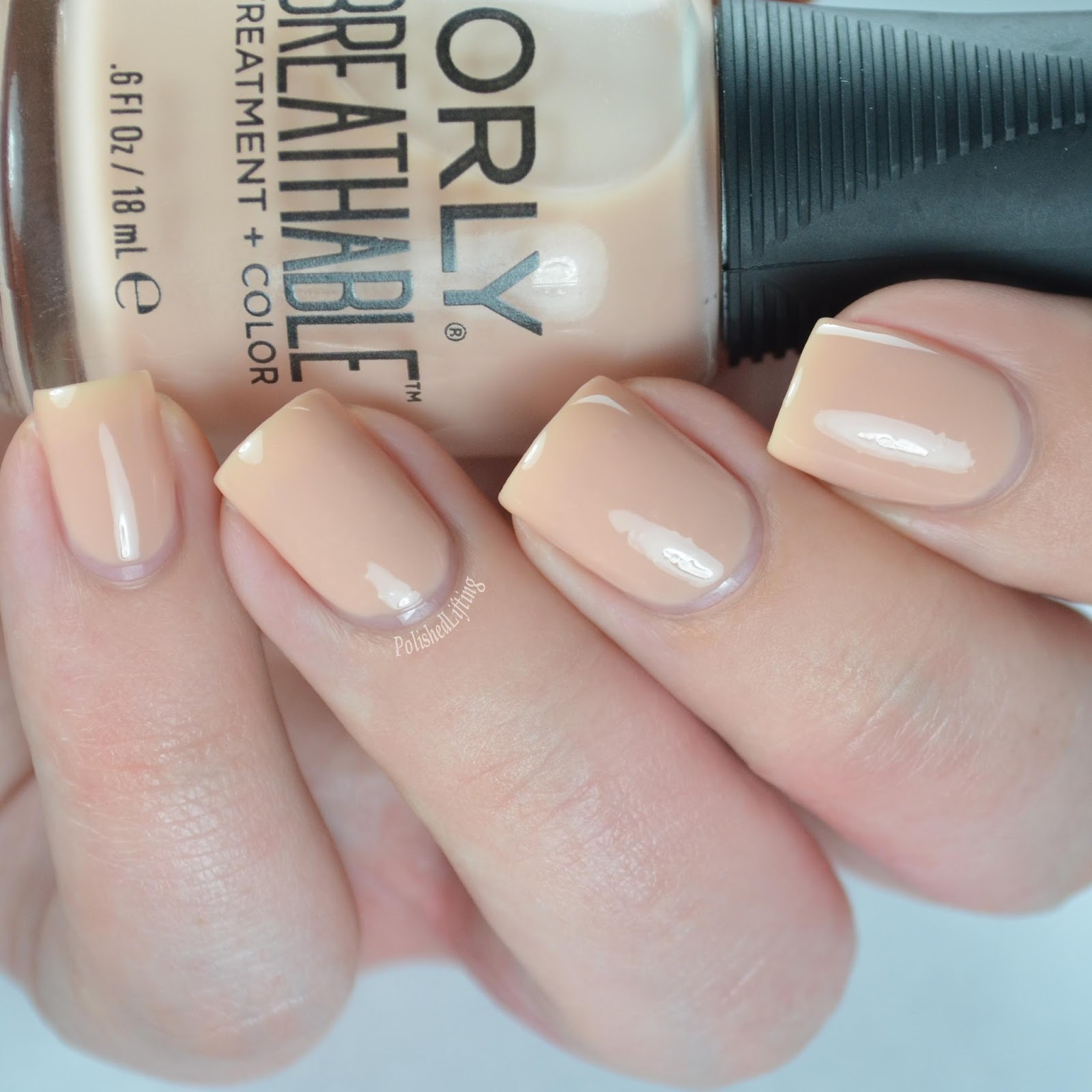 Polished Lifting Orly Breathable Swatches Nail Art