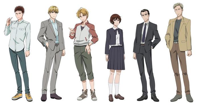 The Night Beyond The Tricornered Window (Sankaku Mado no Sotogawa wa Yoru) anime - personajes