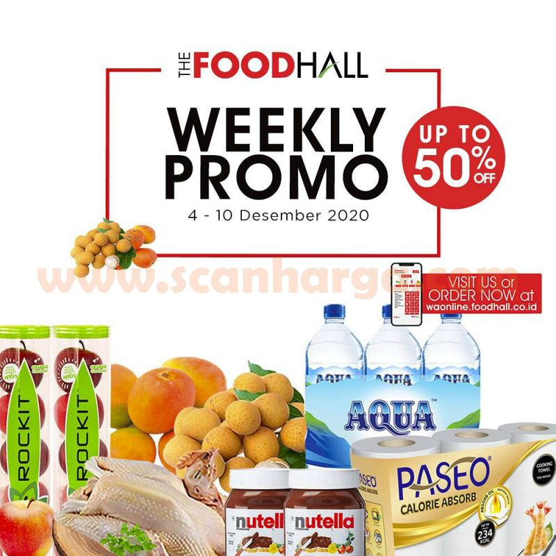 Katalog Promo Foodhall Weekly Special 4 - 10 Desember 2020