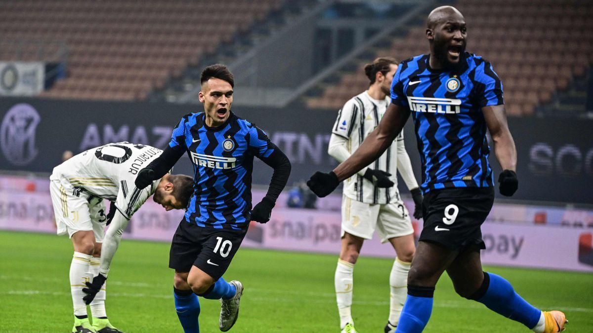 Inter con Lautaro Martínez se impuso en el clásico ante Juventus y también es líder de la Serie A