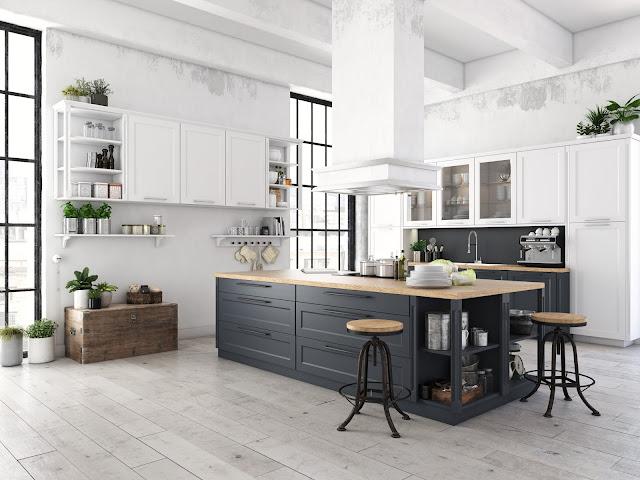 cozinha moderna decorada