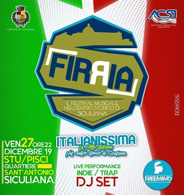 """""""Italianissima"""" La notte italiana nel centro storico di Siculiana"""