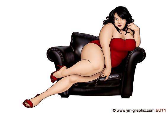 Секс картины полных красивых женщин это