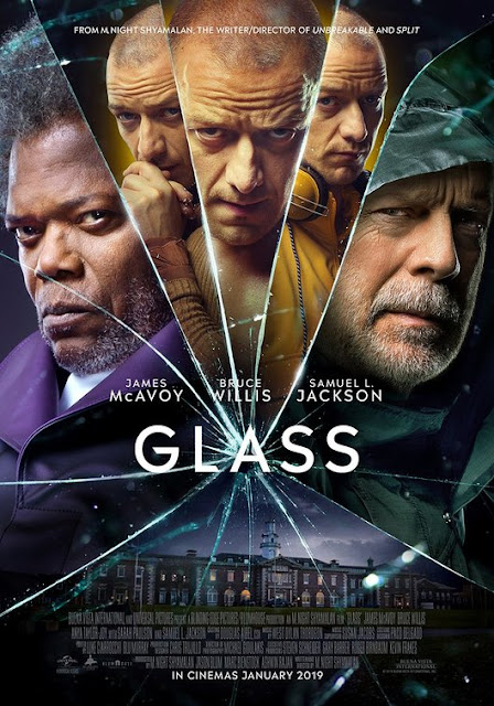Review Film GLASS (2019) Psikologi Thriller