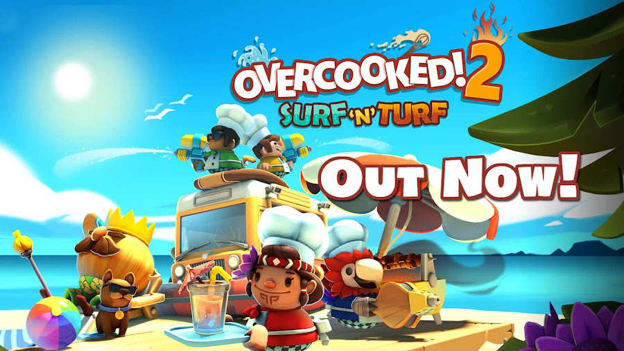 overcooked 2 surf n turf dlc team 17