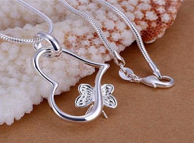 Silver Pendant For Women