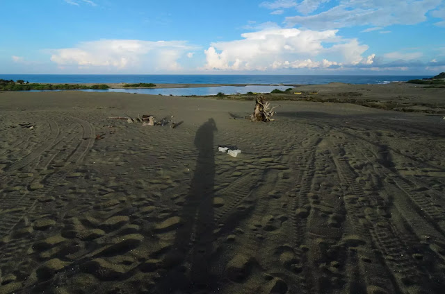 Coastal Self Portrait Culili Point Paoay Ilocos Norte Philippines