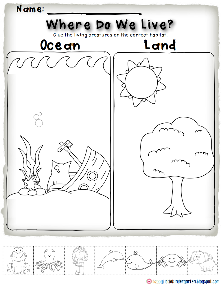 Happy Little Kindergarten: Ocean Commotion