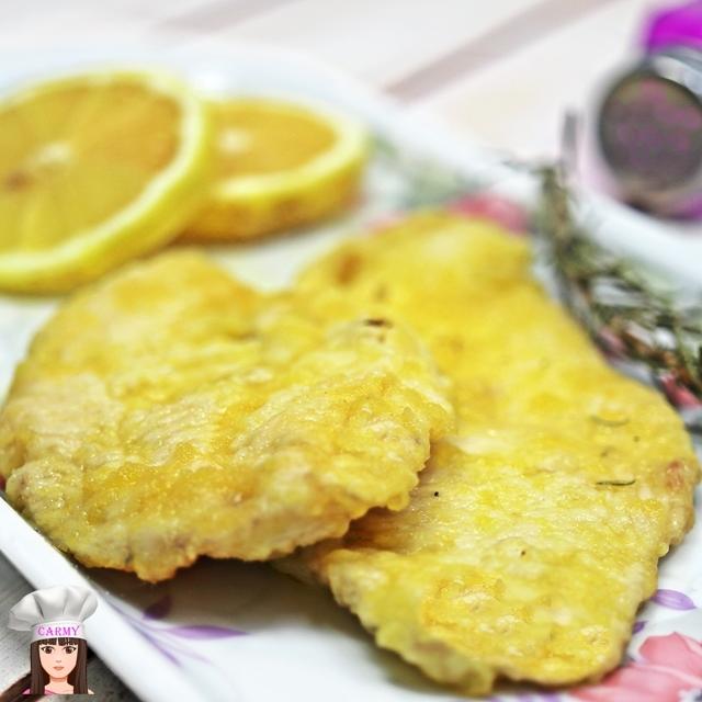 scaloppine di pollo senza burro