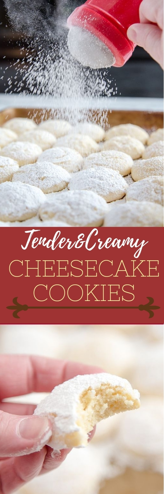 CHEESECAKE COOKIES #sweet #cookies