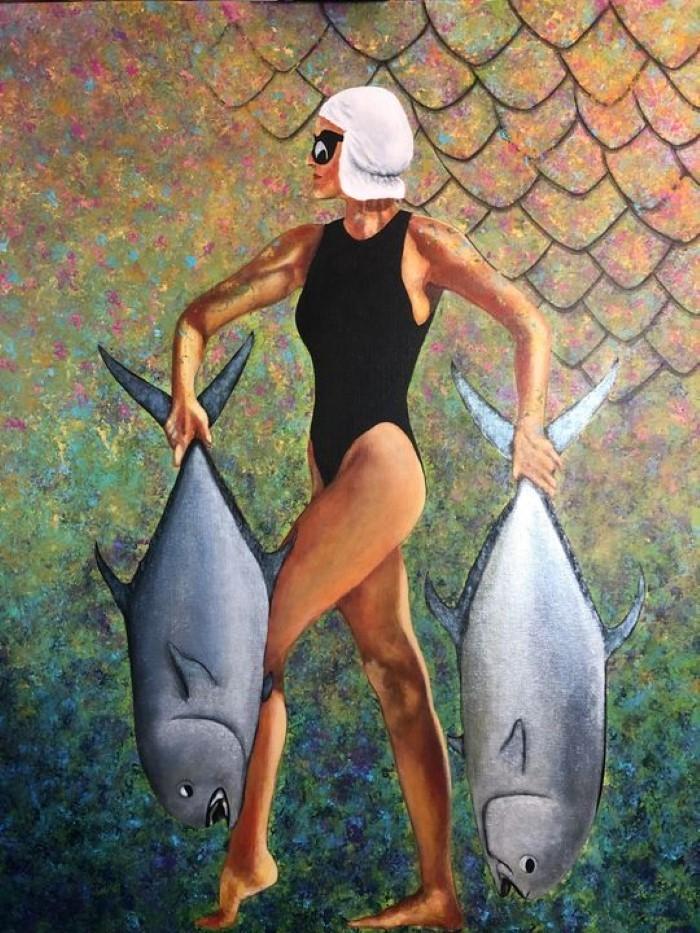 Влечение к живописи. Eva Pelles