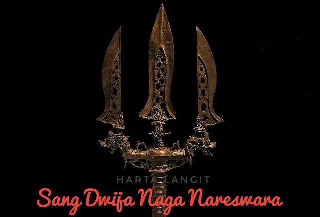 gambar tombak pataka sang dwija naga nareswara