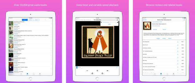 LibriVox app: Δωρεάν πάνω από 50 χιλιάδες audiobooks από εθελοντές χωρίς διαφημίσεις