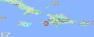 Buildings damaged & collapsed after Haiti hit with 'major' 7.2 quake