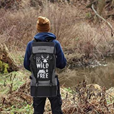 Fur Jaden 55 LTR Rucksack Travel Backpack Bag One Solution for all Your Baggage Needs