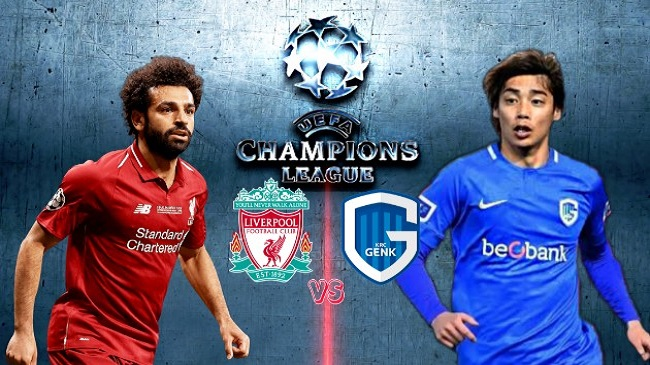 Live Streaming Liverpool vs KRC Genk