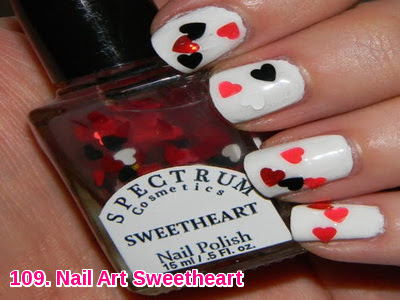 Nail Art Sweetheart