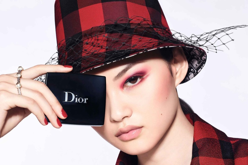 He Cong fronts Dior Diorshow 2020 makeup campaign.