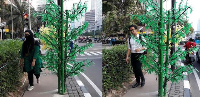 Sandiaga Uno Sebut Pohon Imitasi Habiskan 8 Miliar Hoax, tapi Ratusan Juta