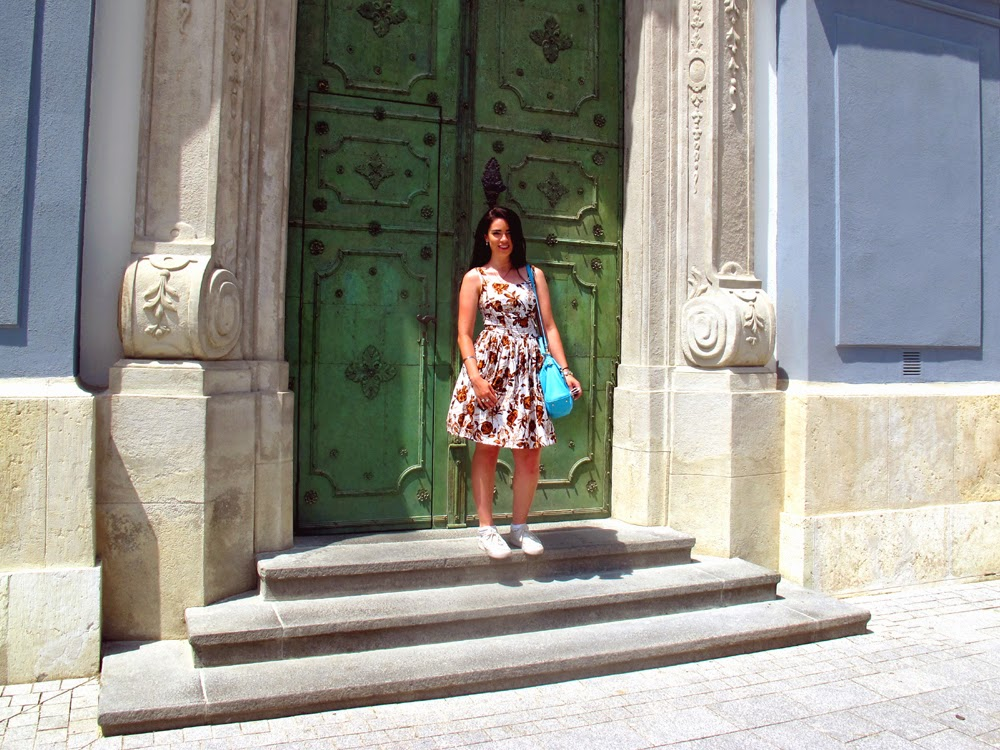 Travel blogger Emma Louise Layla in Hungary