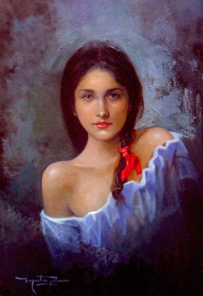 Колумбийский художник-реалист.