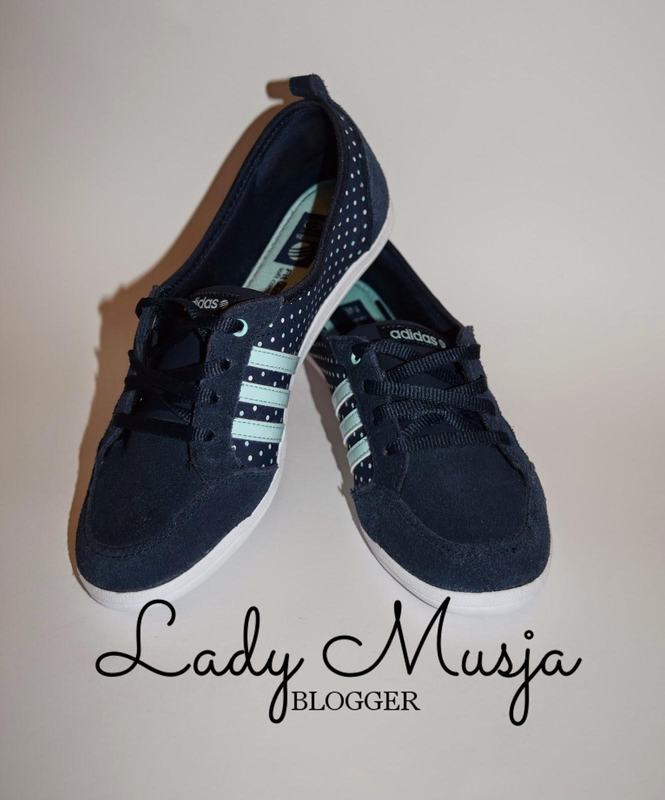 Lady Musja: Adidas Neo Piona W in blau